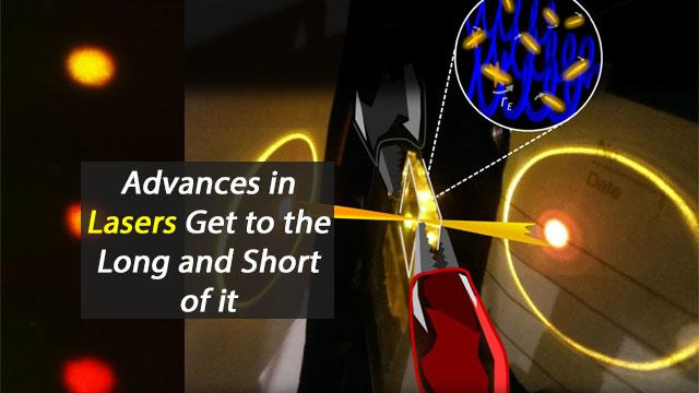 Shining Light on Laser Advances