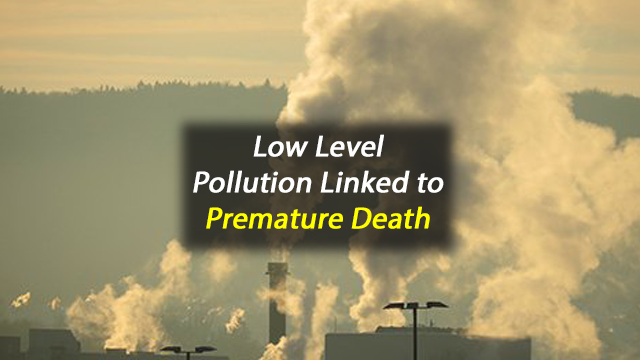 Short-Term Exposure to Low Levels of Air Pollution Linked With Premature Death Among U.S. Seniors