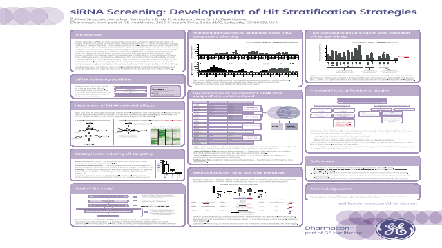 siRNA Screening: Development of Hit Stratification Strategies