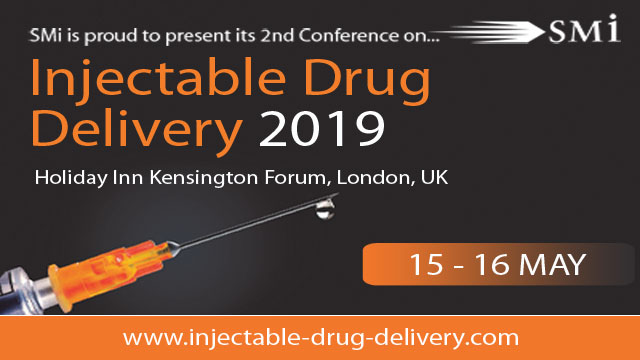 SMi Presents the 2nd Annual Conference: Injectable Drug Delivery 2019
