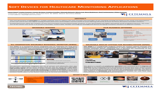 Soft Devices for Healthcare Monitoring Applications