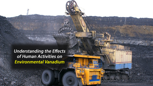 Sources of Environmental Vanadium