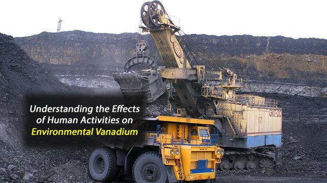 Sources of Environmental Vanadium