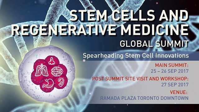 Stem Cells and Regenerative Medicine Global Summit