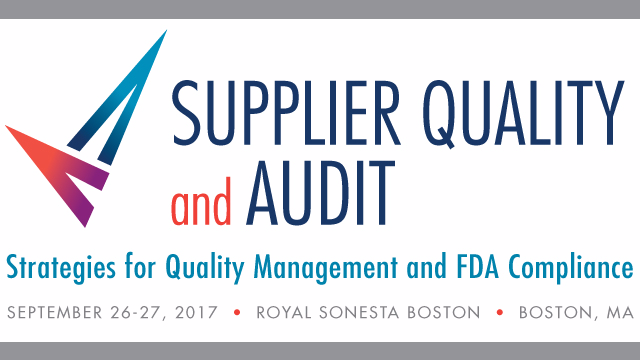 Supplier Quality and Audit