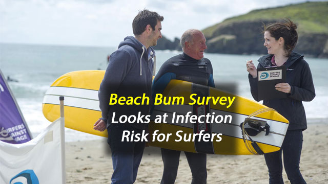Surfers Three Times More Likely to Have Antibiotic-Resistant Bacteria in Guts