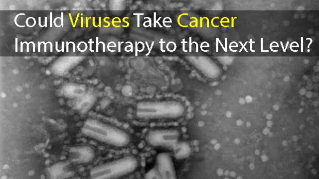 Taking Cancer Immunotherapy to the Next Level Using Viruses