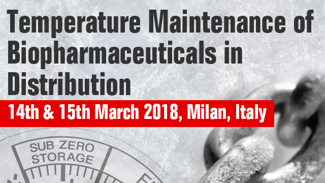 Temperature Maintenance of Biopharmaceuticals in Distribution
