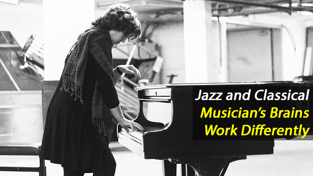 The Brains of Jazz and Classical Pianists Work Differently