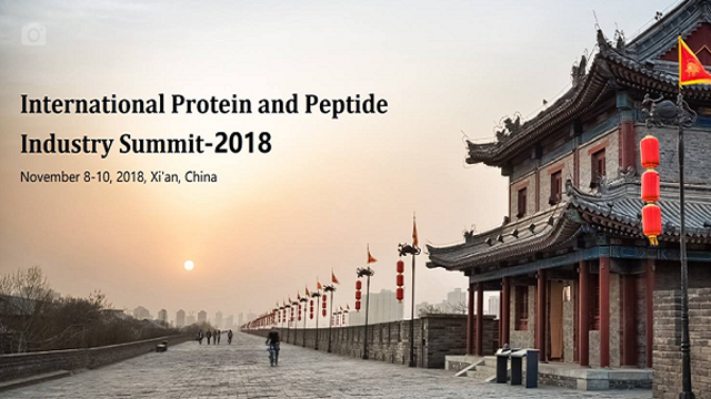 The International Protein and Peptide Industry Summit-2018