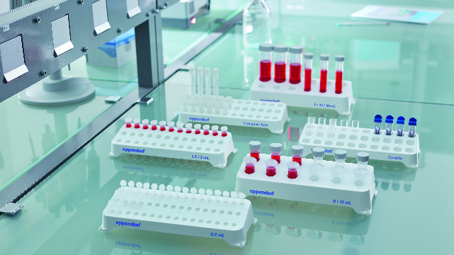 The New Eppendorf Tube and Cuvette Racks