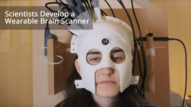 The Wearable Brain Scanner: New MEG helmet