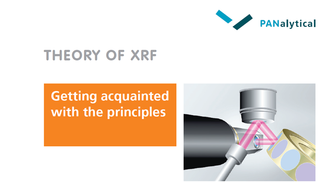 Theory of XRF, getting acquainted with the principles (booklet)