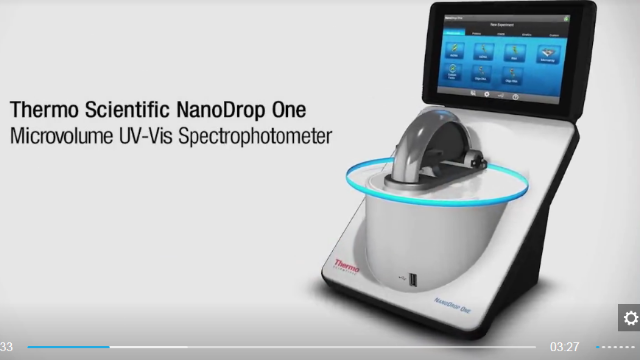 Thermo Scientific™ NanoDrop™ One Microvolume UV-Vis spectrophotometer