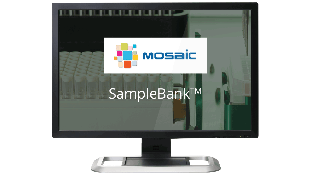 Titian's Mosaic SampleBank: never lose a sample