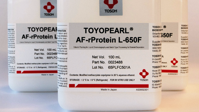 Tosoh Bioscience Introduces TOYOPEARL AF-rProtein L-650F Chromatography Resin