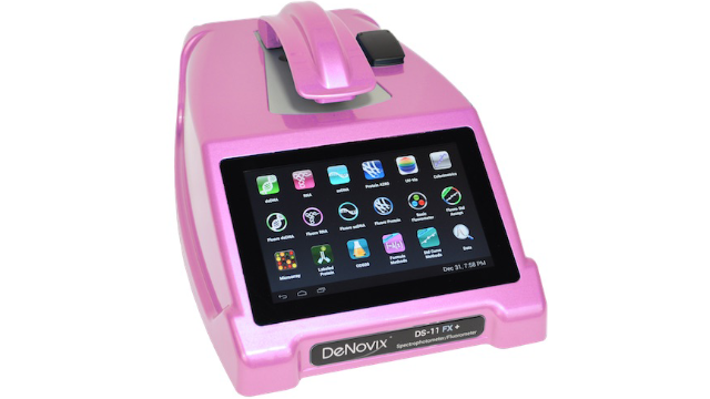 Ukraine National Academy of Science wins DeNovix Pink Spectrophotometer / Fluorometer