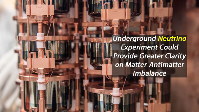 Underground Neutrino Experiment Sets the Stage for Deep Discovery About Matter