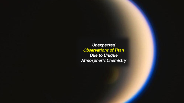 Unexpected Atmospheric Vortex Behaviour on Saturn's Moon Titan