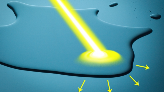 Using Light to Propel Water