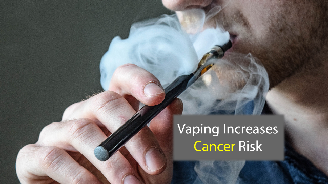 Vaping may raise cancer and heart disease risk, study suggests