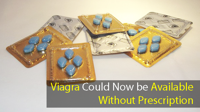 Viagra Could Now be Available Without Prescription