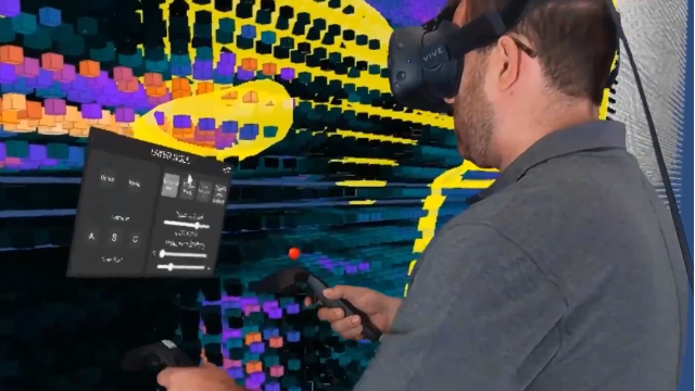 Virtual Reality Tool Helps Process Brain Scan Data