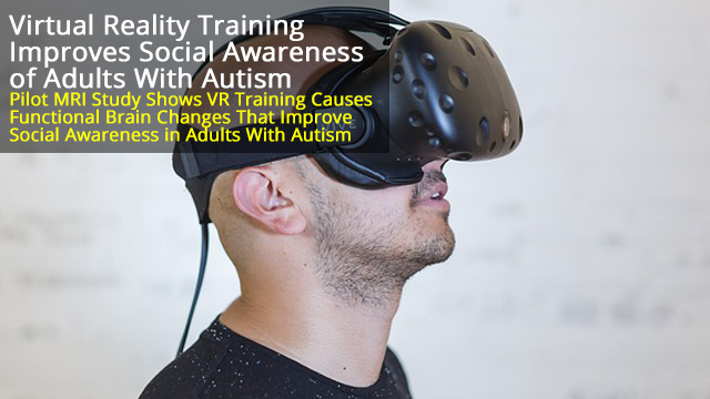 VR Platform Improves Social Competency in Adults With Autism