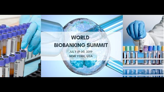 World Biopreservation and Biobanking Summit 2019