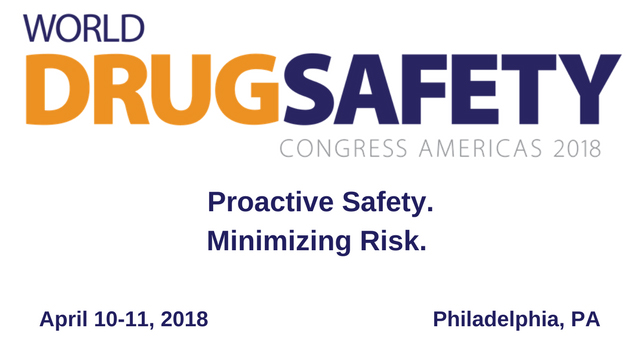 World Drug Safety Congress Americas 2018