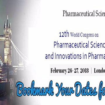 12th World Congress on Pharmaceutical Sciences and Innovations in Pharma Industry