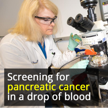 Blood Test Rapidly Detects Signs of Pancreatic Cancer