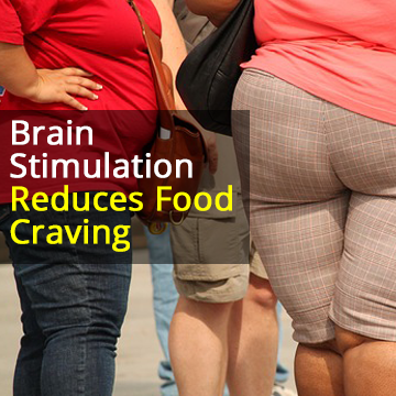 Brain Stimulation With dTMS Reduces Food Cravings