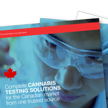 Complete Cannabis Testing Solutions for the Canadian Market from a Single Source