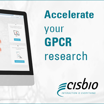 Detect GPCR interactions using Cisbio's HTRF technology
