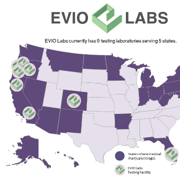 EVIO Labs Florida Licensee Announces ISO 17025 Accreditation