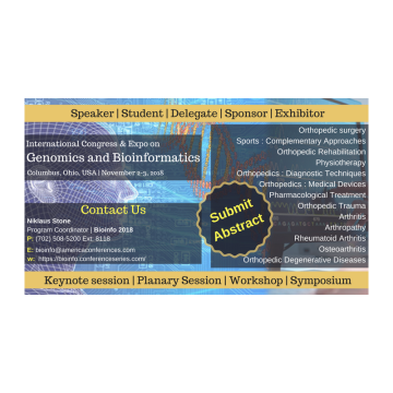 International Congress & Expo on Genomics and Bioinformatics