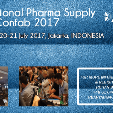 International Pharma Supply Chain Confab 2017