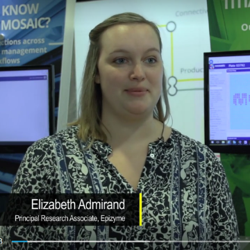 LabTube TV meets Elizabeth Admirand, Epizyme
