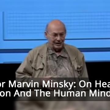 Marvin Minsky: Health, population and the human mind