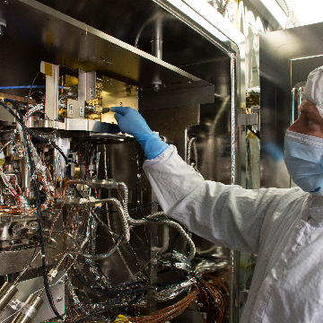 Mini-Mass Spec for Mars Mission
