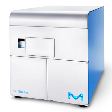 NEW CellStream™ flow cytometer