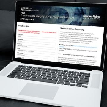 Part 1: Ensuring Data Integrity using Enterprise Software