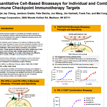 Quantitative Cell-Based Bioassays for Individual and Combination Immune Checkpoint Immunotherapy Targets