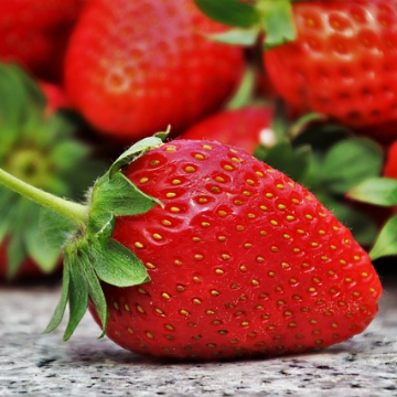 Strawberry's Properties are More than Skin Deep