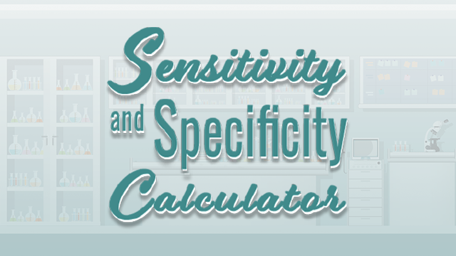 Sensitivity Specificity Calculator